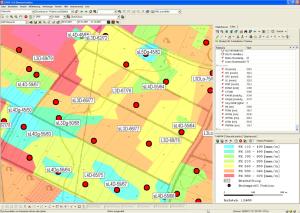 Schlagbezogene Bodenklassifikation aus Reichsbodenschätzung, Feldkapazität